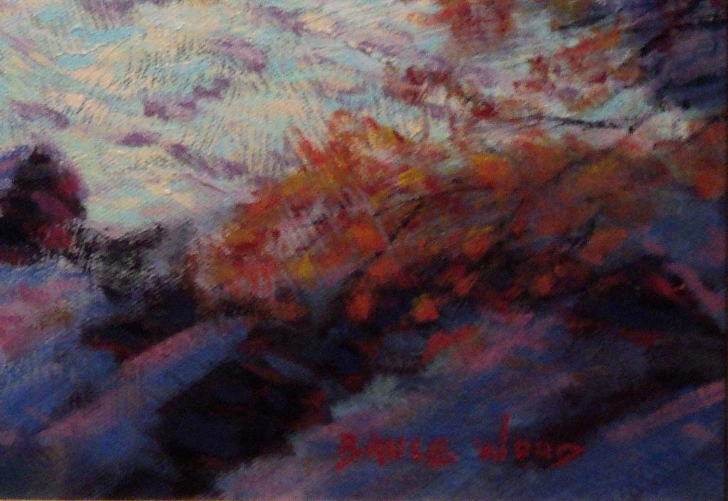 Contemporary Impressionist Snow Scene - 6