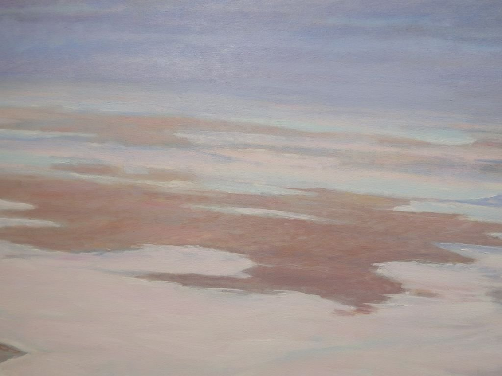 Fog Rolling In: 1987 Oil Painting By Cape Cod Artist S. - 2