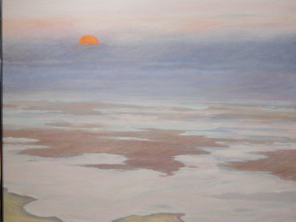 Fog Rolling In: 1987 Oil Painting By Cape Cod Artist S. - 3