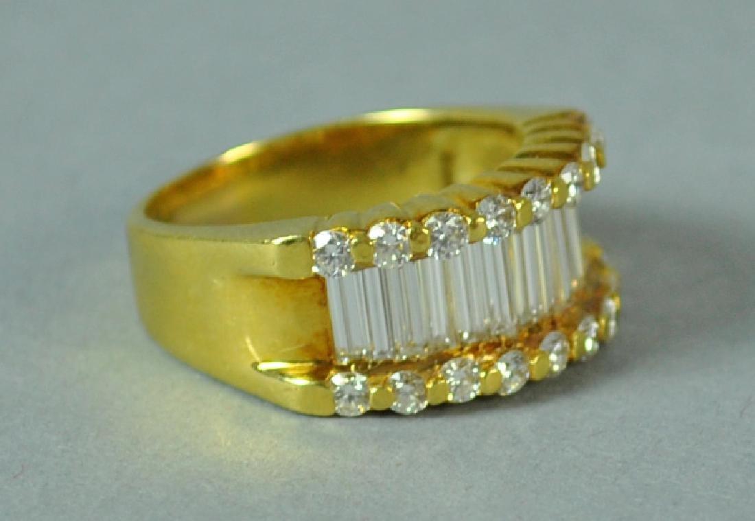 18K DIAMOND RING, 2.83CTW