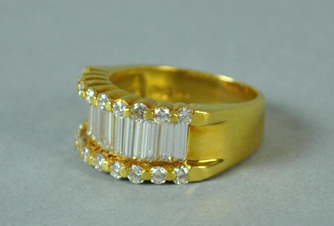 18K DIAMOND RING, 2.83CTW - 2