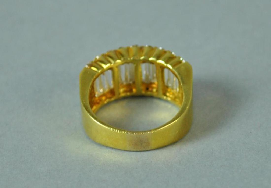 18K DIAMOND RING, 2.83CTW - 3