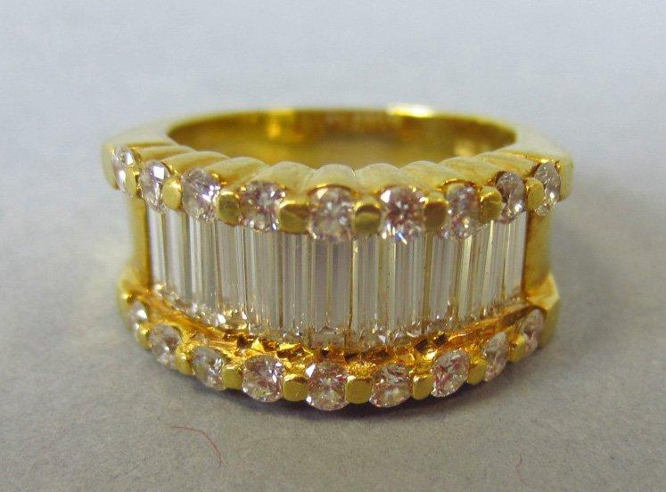 18K DIAMOND RING, 2.83CTW - 4