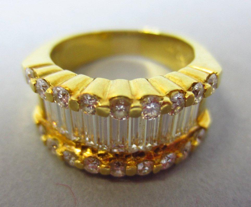18K DIAMOND RING, 2.83CTW - 5