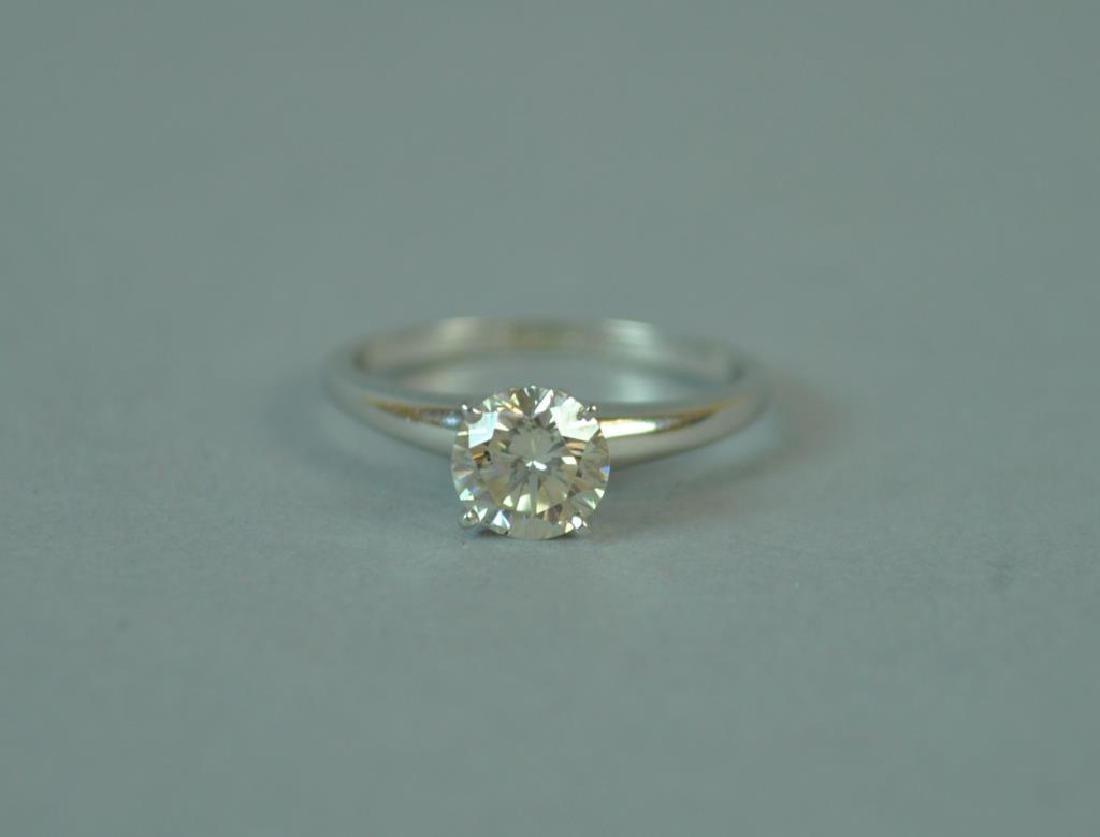 TIFFANY DIAMOND ENGAGEMENT RING, 0.70CT