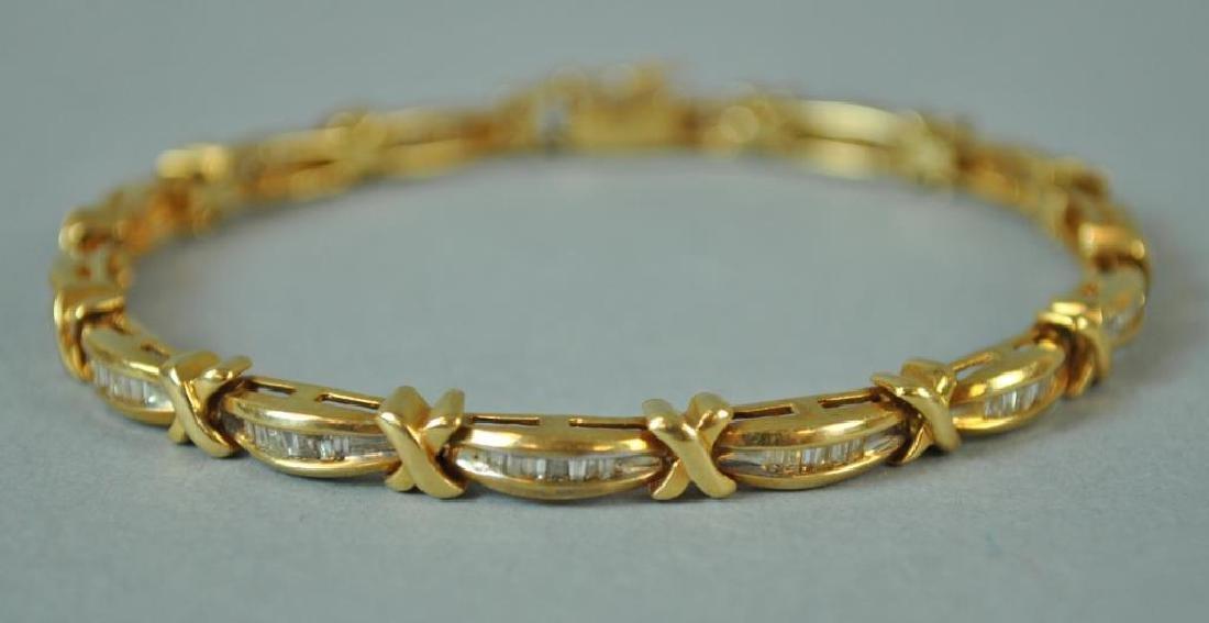 DIAMOND X-LINK BRACELET