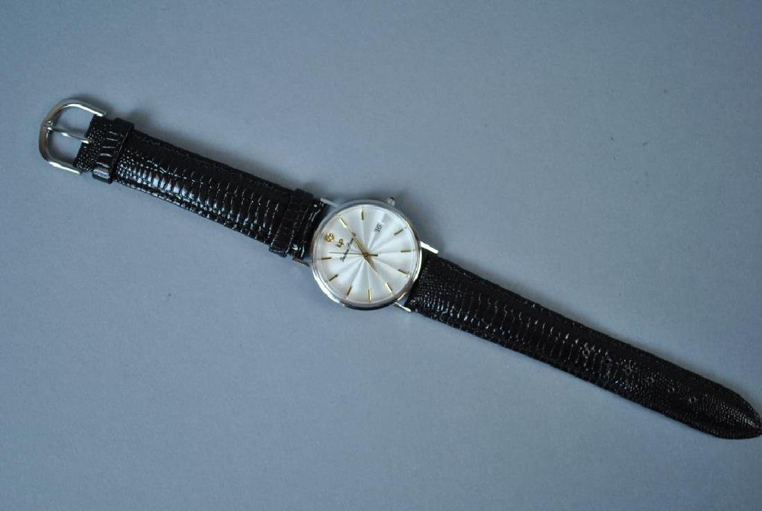 LUCIEN PICCARD WHITE GOLD CASE WATCH - 3
