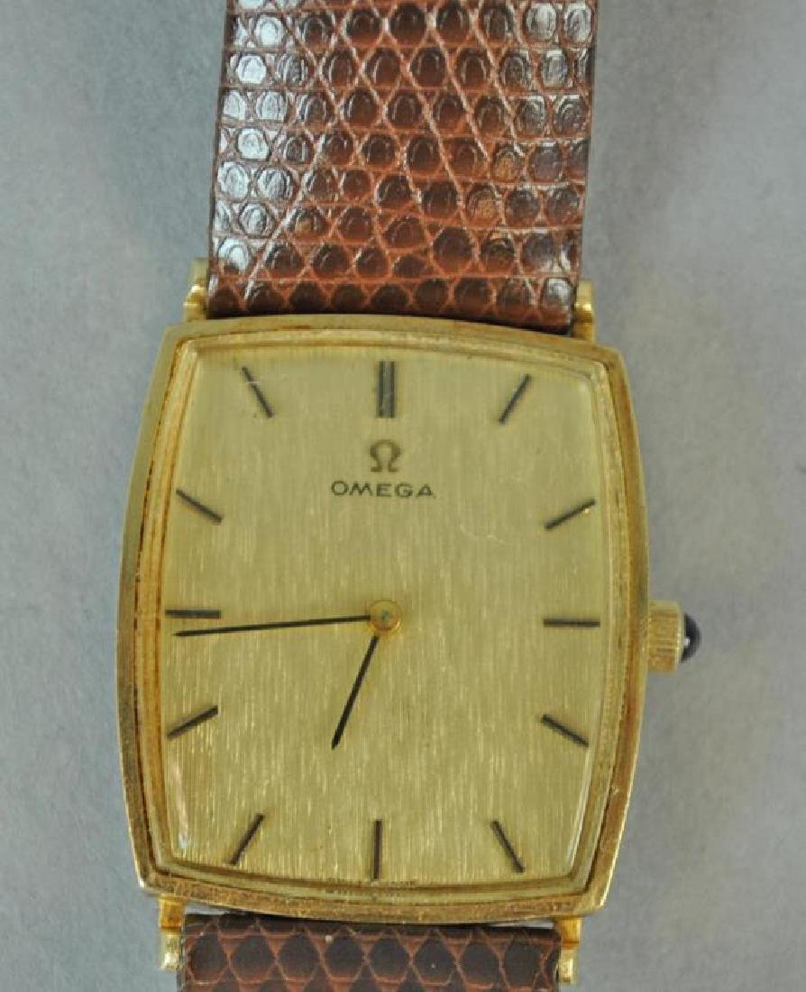 GENTS OMEGA GOLD CASE WATCH