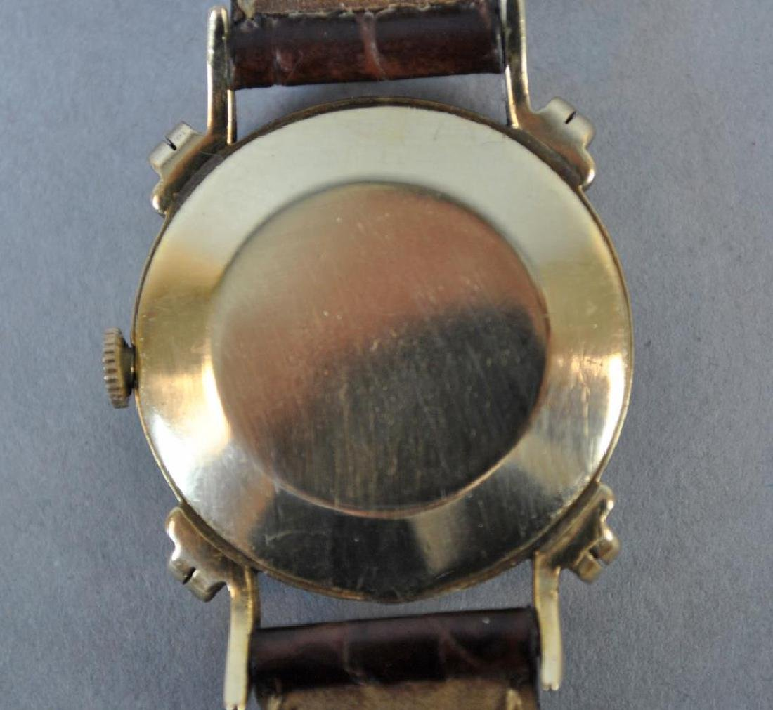 VINTAGE LONGINES GOLD KNOTTED LUG CASE WATCH - 2