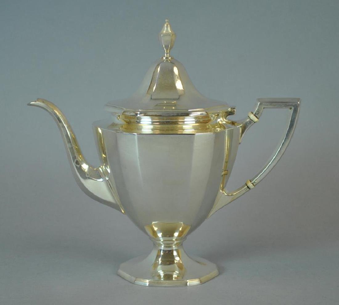 TIFFANY & CO. STERLING TEA POT