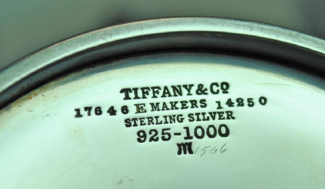 TIFFANY & CO. STERLING TEA POT - 2