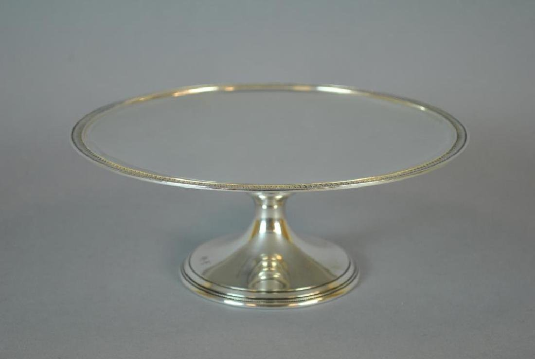 TIFFANY & CO. STERLING CAKE STAND