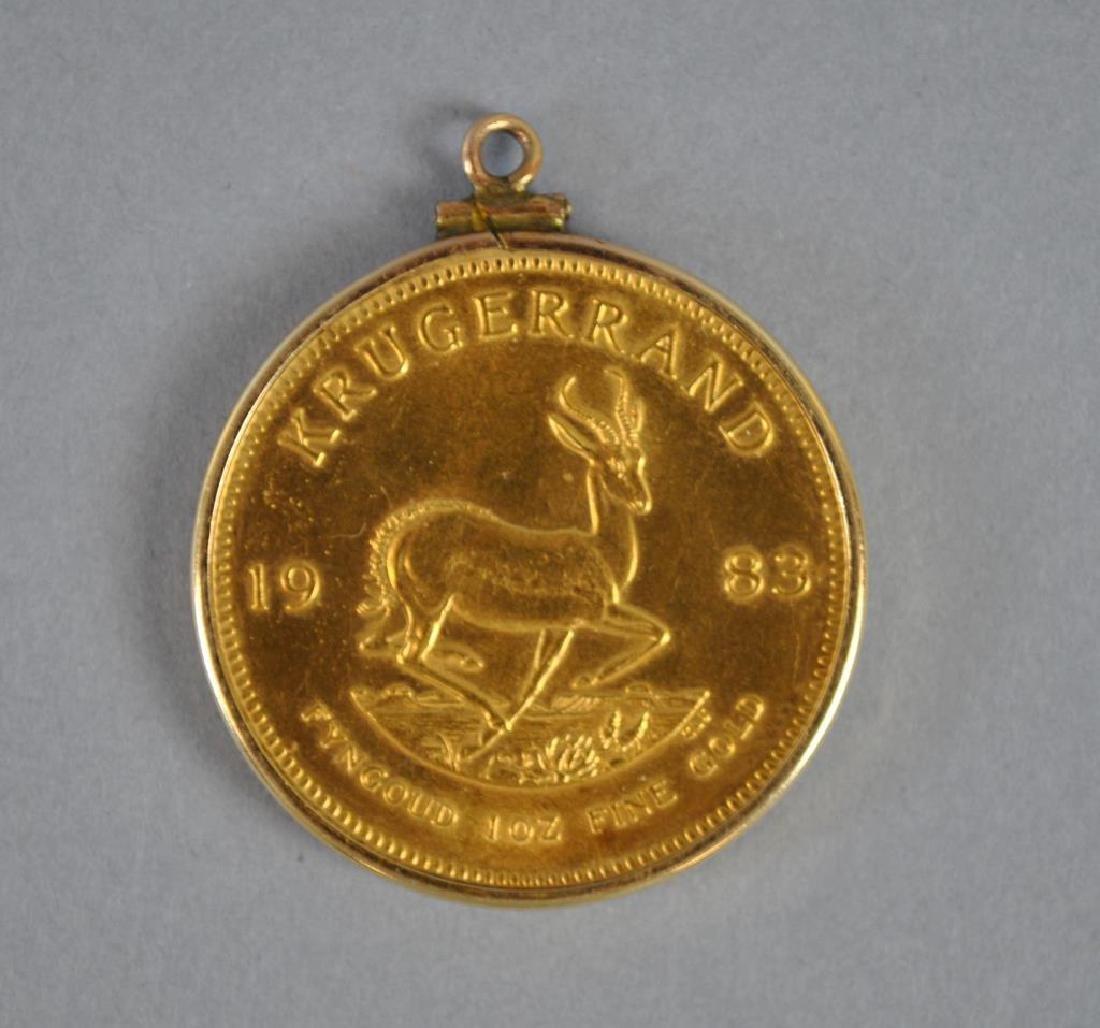 1983 GOLD KRUGERAND - 2