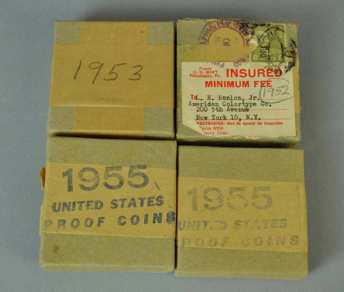(4) BOXED US PROOF COIN SETS