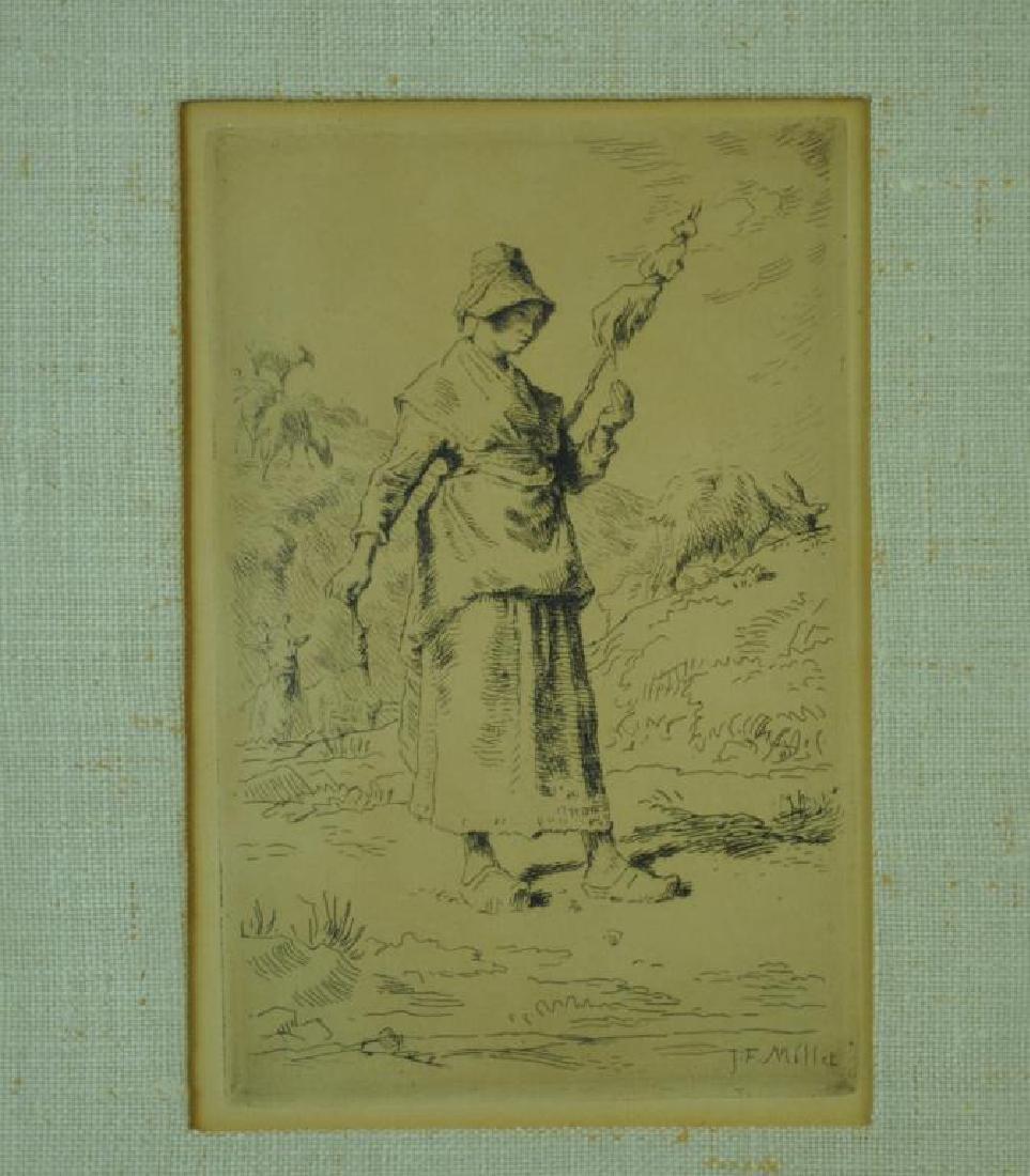 JEAN FRANCOIS MILLET (French, 1814-1875) - 2