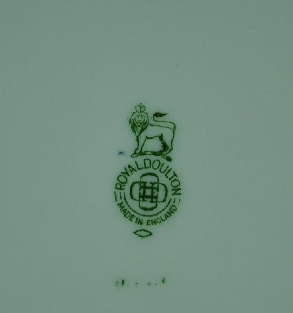 (12) ROYAL DOULTON COBALT & GILT CABINET PLATES - 2