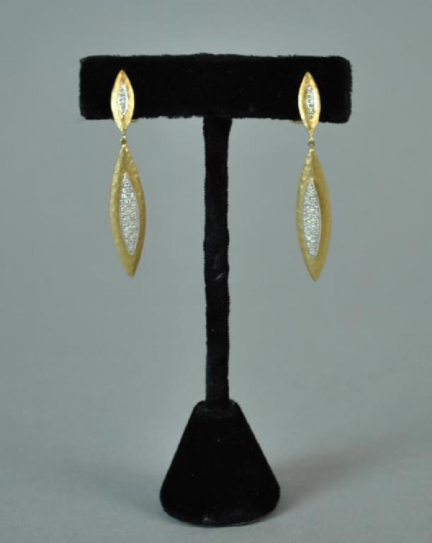 DIAMOND PENDANT EARRINGS