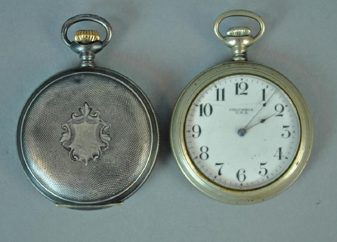 (2) GENTS POCKET WATCHES