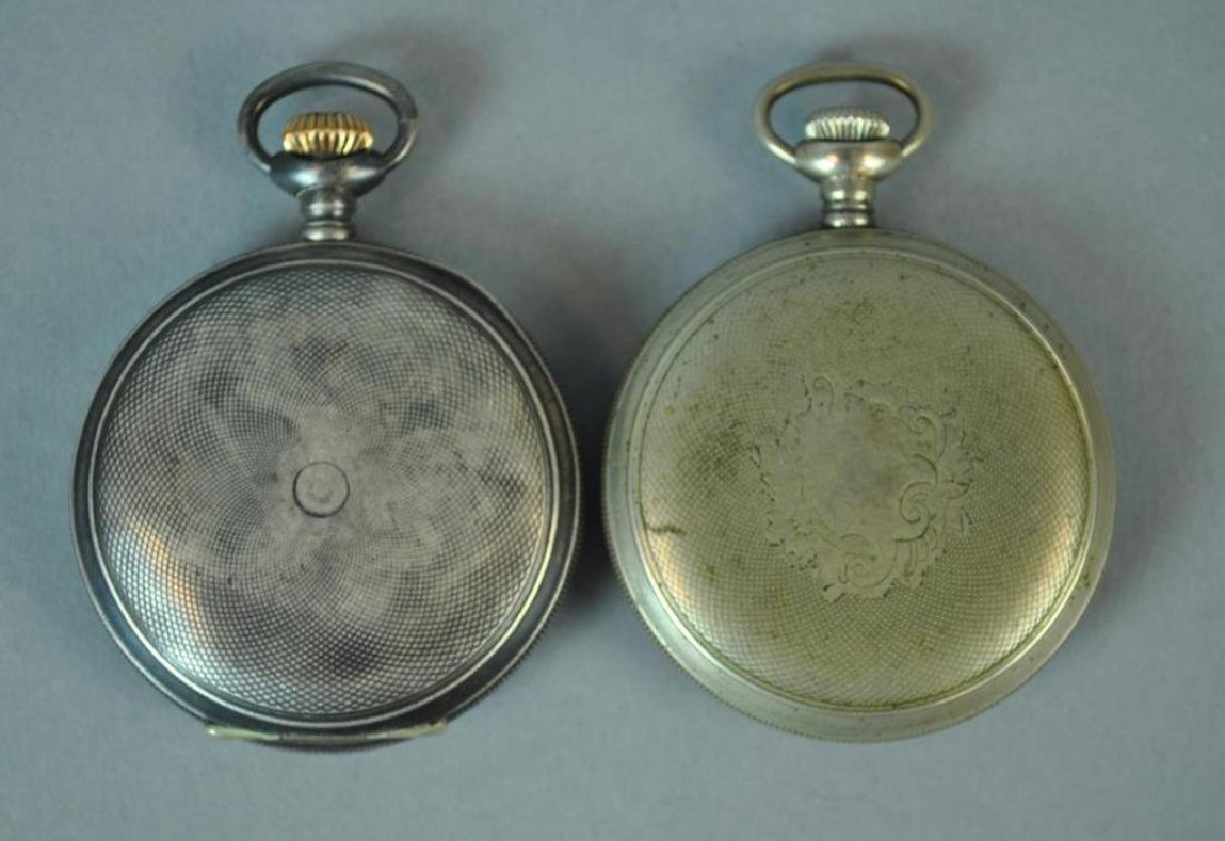 (2) GENTS POCKET WATCHES - 2