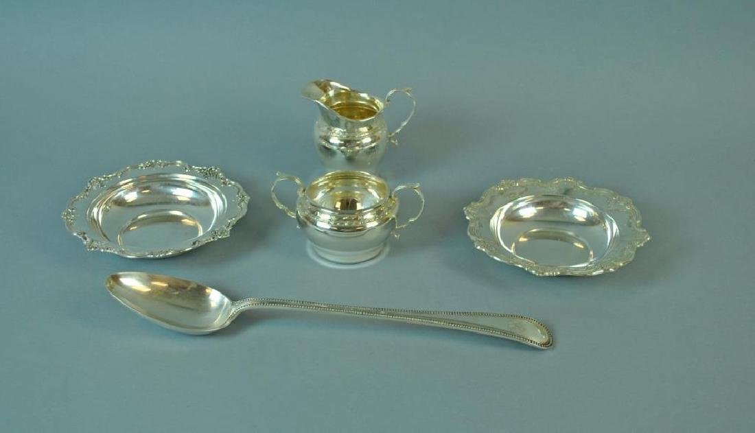 (5) PIECE STERLING TABLEWARE GROUP