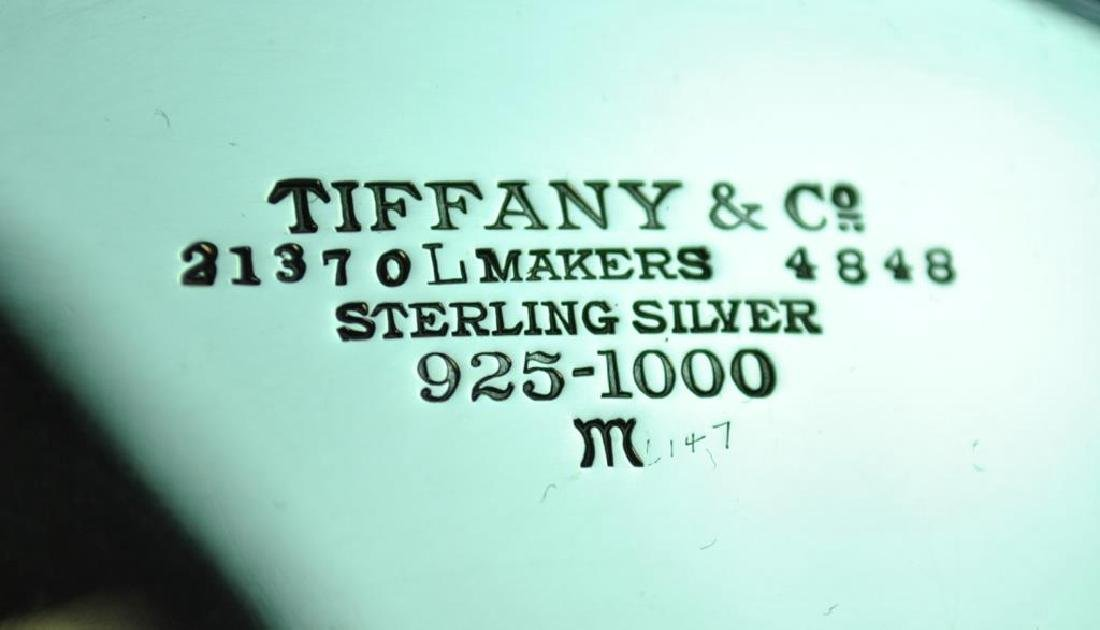 TIFFANY & CO. STERLING PIERCED SALVER - 3