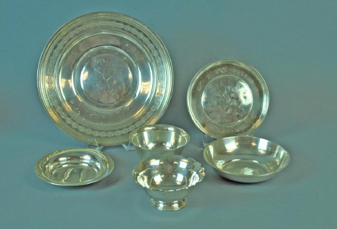(6) PIECE STERLING TABLEWARE GROUP