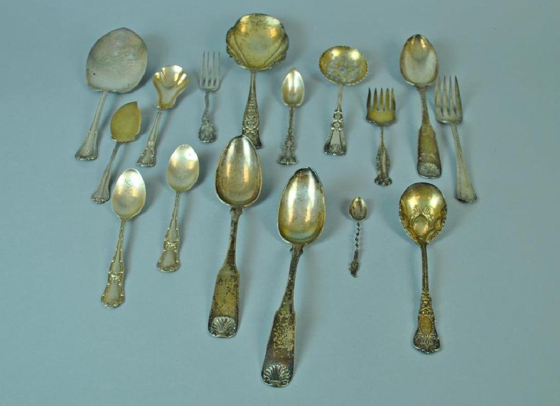 (16) PIECE STERLING & COIN SILVER GROUP