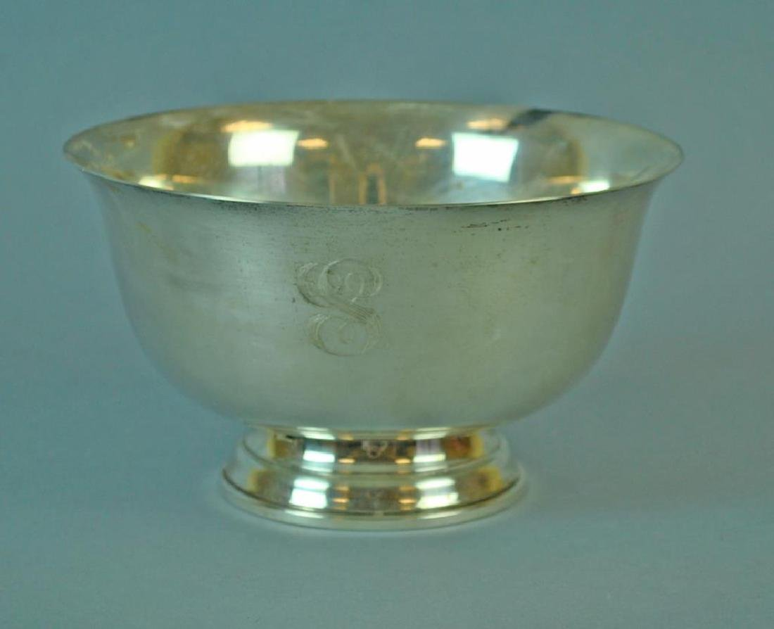 FINA STERLING PAUL REVERE 1768 FOOTED BOWL