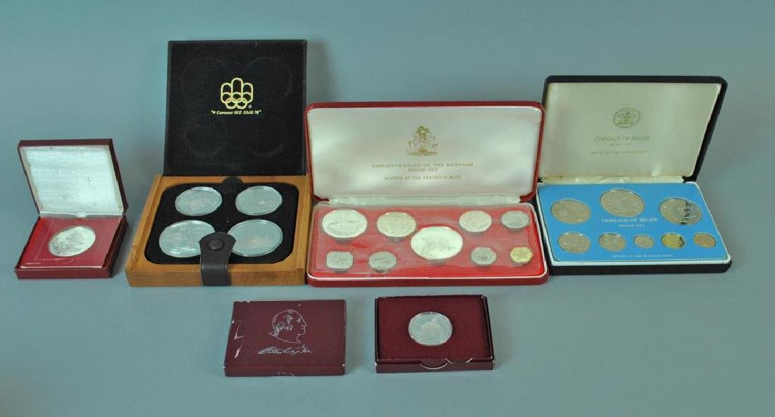 (6) PIECE SILVER PROOF COLLECTIBLE COIN GROUP