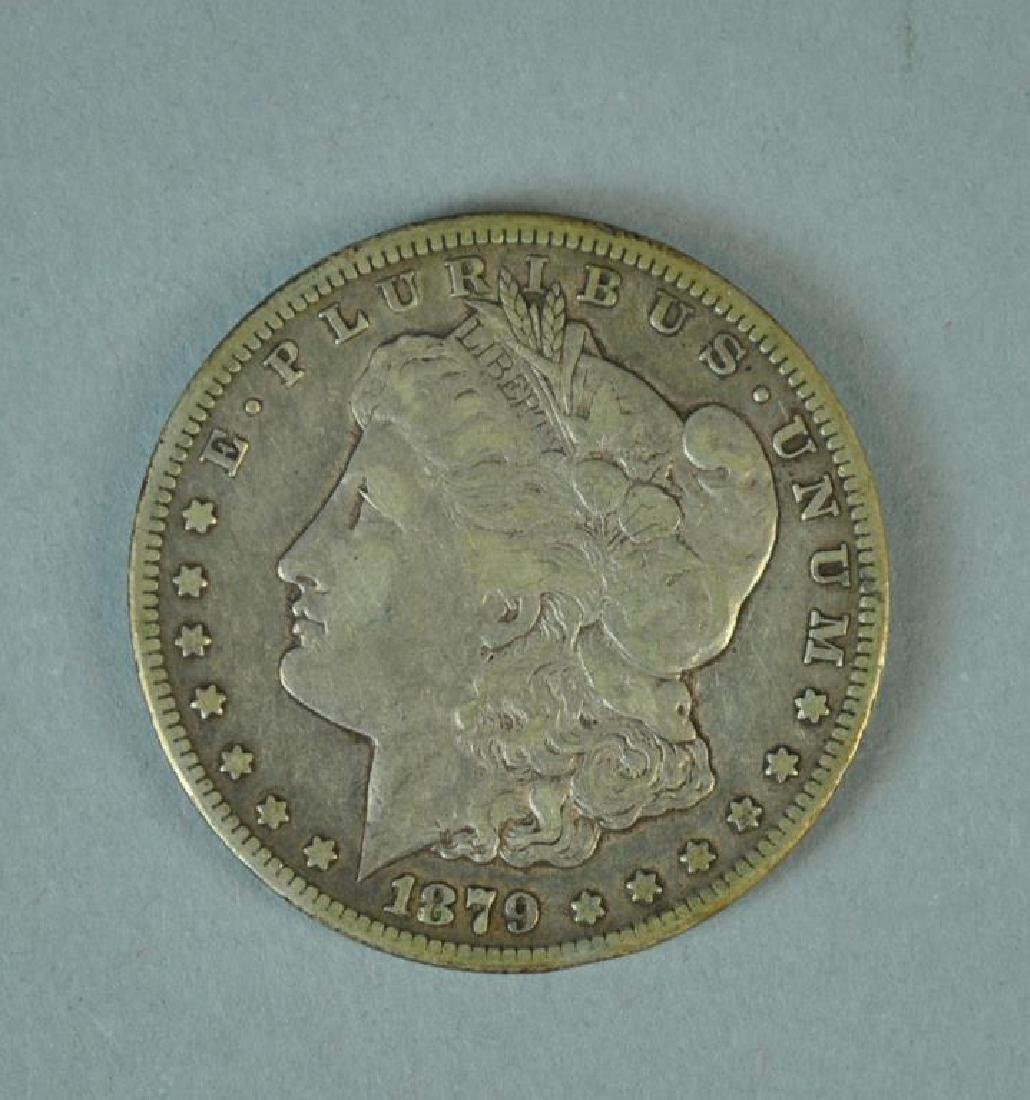 1879-CC MORGAN SILVER DOLLAR