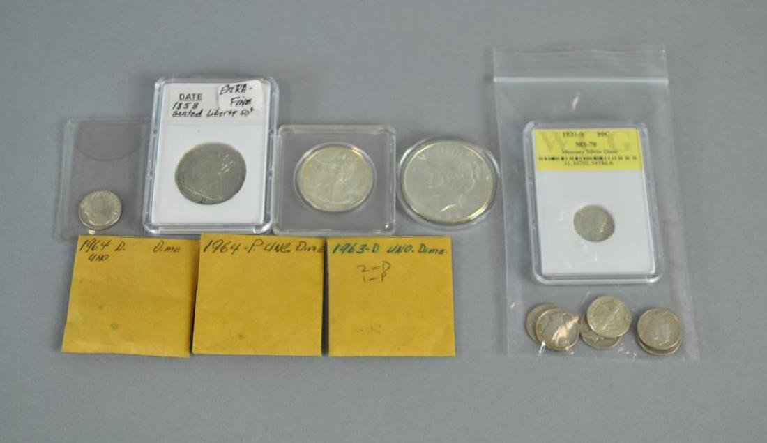 (22) US SILVER COINS