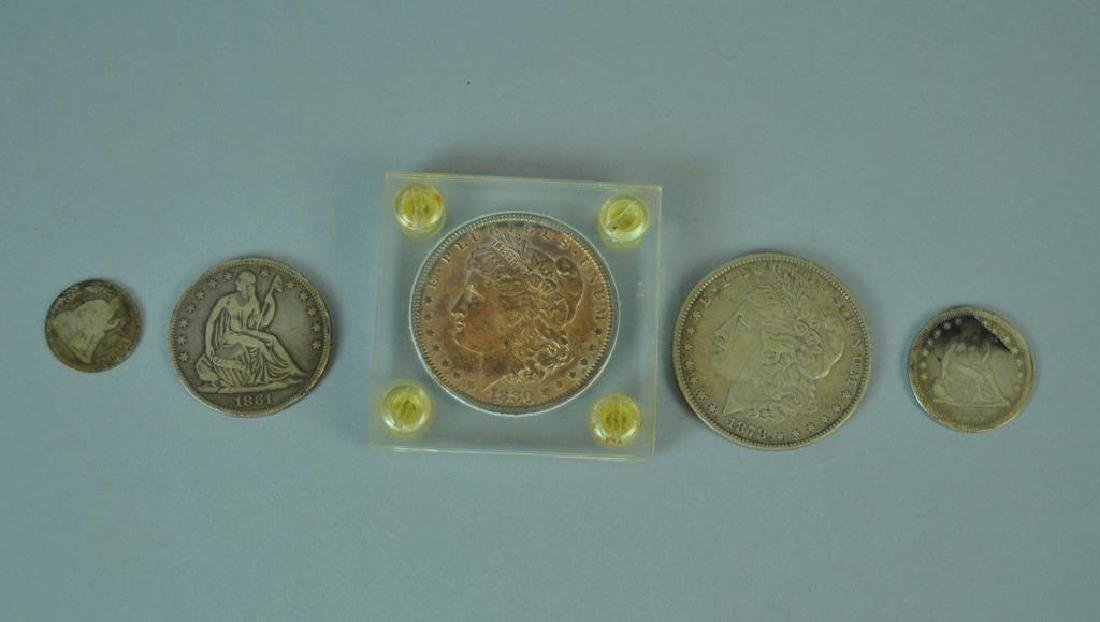 (5) US SILVER COINS