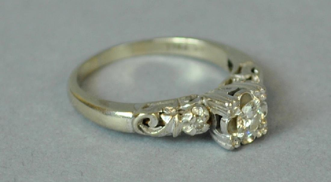 DIAMOND ENGAGEMENT RING, 0.20CT