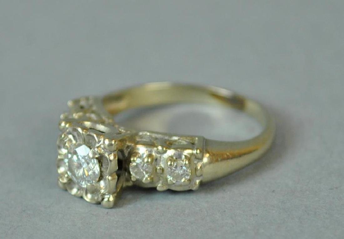 DIAMOND ENGAGEMENT RING, 0.25CT