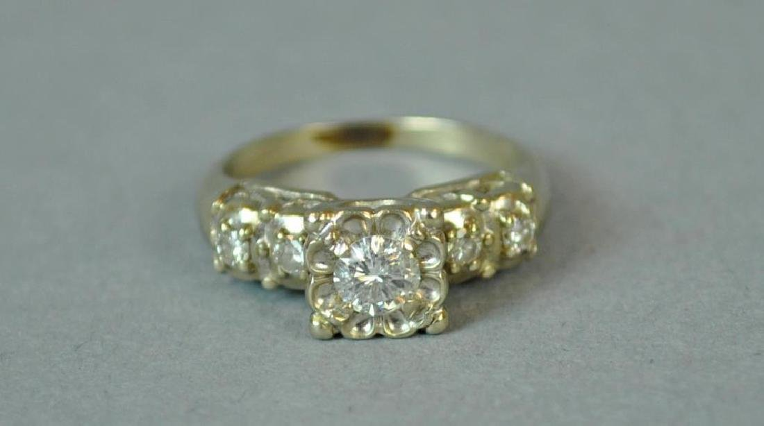 DIAMOND ENGAGEMENT RING, 0.25CT - 3