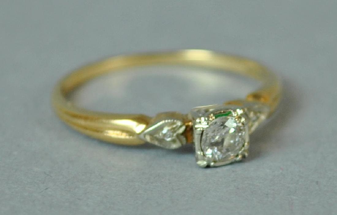 DIAMOND ENGAGEMENT RING, 0.25CT