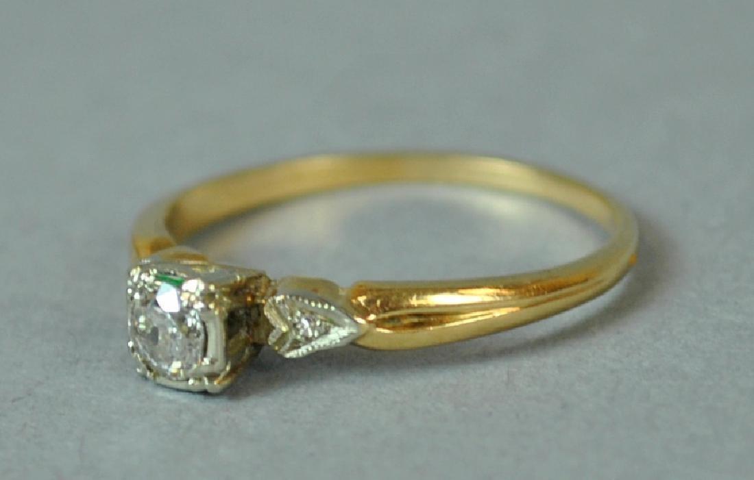 DIAMOND ENGAGEMENT RING, 0.25CT - 3