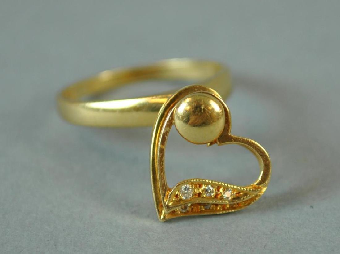 GOLD & DIAMOND SPINNING RING