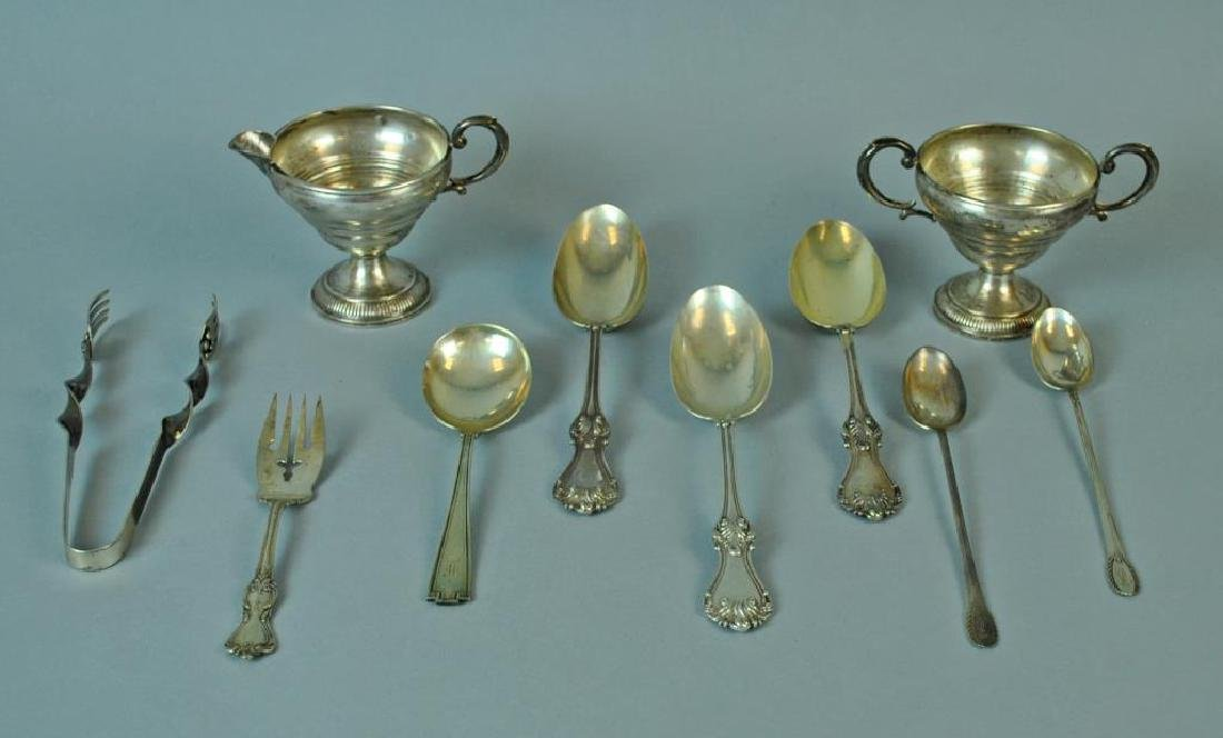 (10) PIECE STERLING TABLEWARE GROUP