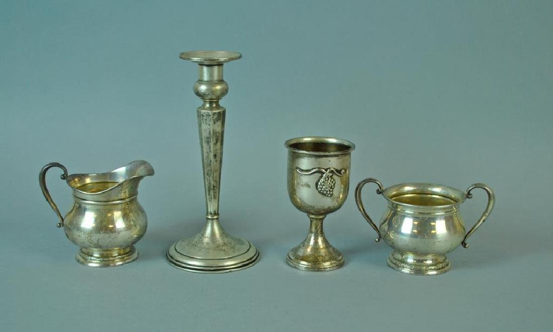 (4) PIECE STERLING TABLEWARE GROUP
