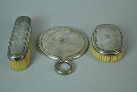 (3) PIECE TIFFANY STERLING DRESSER SET