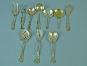 (10) PIECE STERLING FLATWARE GROUP