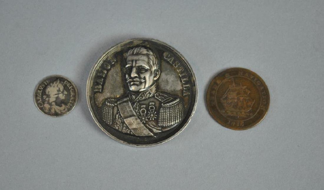 (3) PIECE INTERNATIONAL COIN & MEDAL GROUP