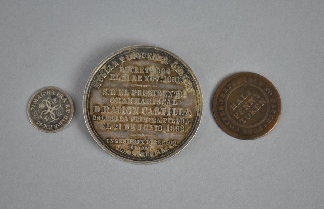 (3) PIECE INTERNATIONAL COIN & MEDAL GROUP - 2