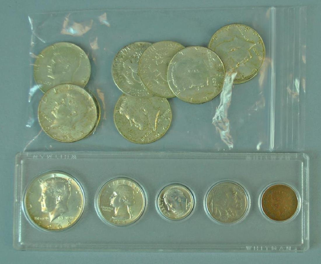 (16) PIECE US SILVER COIN GROUP - 2