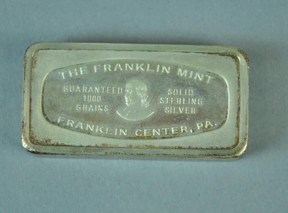 (3) FRANKLIN MINT 1970 1000-GRAIN CHRISTMAS INGOTS - 3