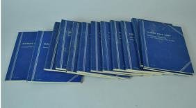 (12) PARTIALLY COMPLETE WHITMAN COIN FOLDERS