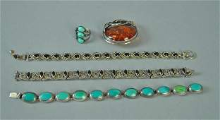 (5) PIECE STERLING JEWELRY GROUP
