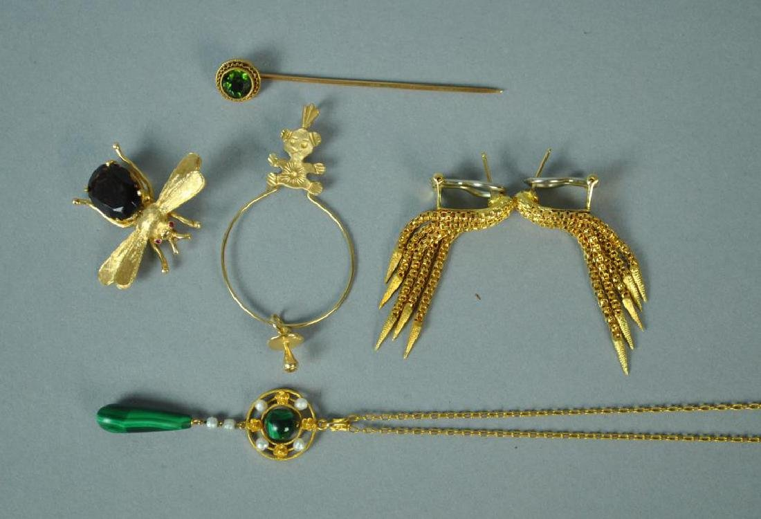 (7) PIECE GOLD JEWELRY GROUP