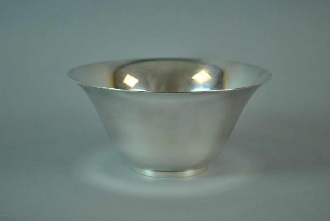 TIFFANY & CO. STERLING FOOTED BOWL